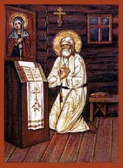 Ikon of St Seraphim of Sarov