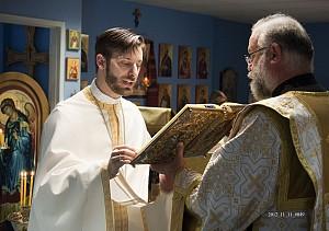 Fr Timothy & Fr Deacon Seraphim